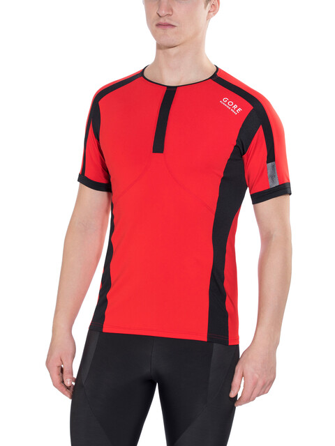 GORE RUNNING WEAR AIR Shirt Men red/black